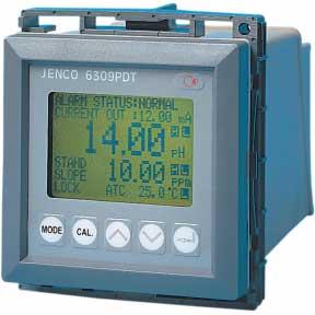 Máy đo oxy hòa tan và nhiệt độ Online JENCO, Model 6309 PDTF