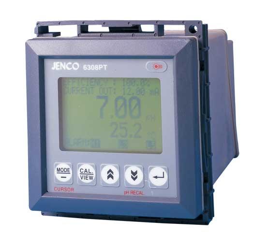 Máy đo pH và nhiệt độ Online JENCO, Model 6308 PT