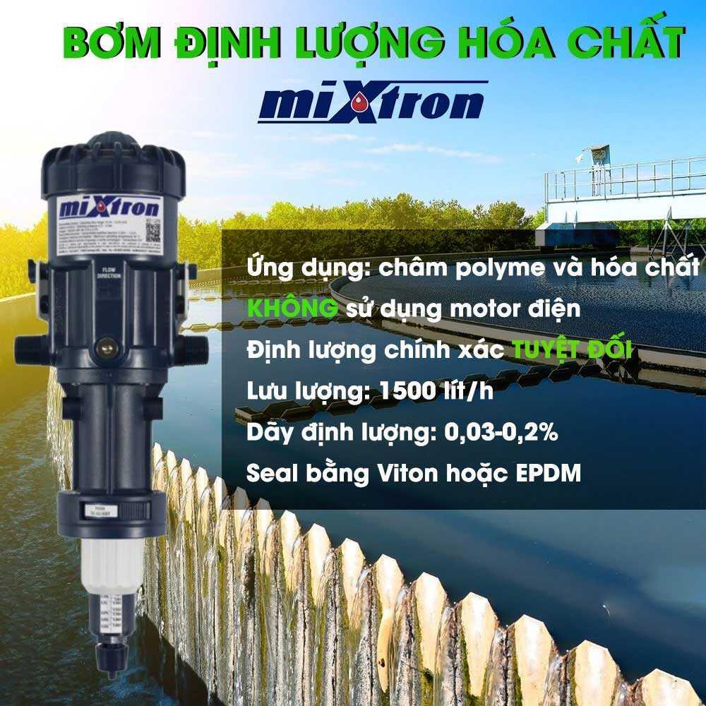 Bơm định lượng Mixtron, MX 150.P003, Công suất:1500 lít/h