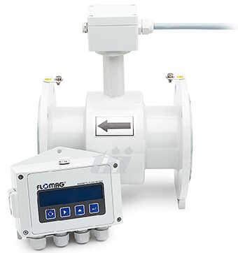 Đồng hồ đo lưu lượng điện từ Flomag, remote, DN10 - DN1200
