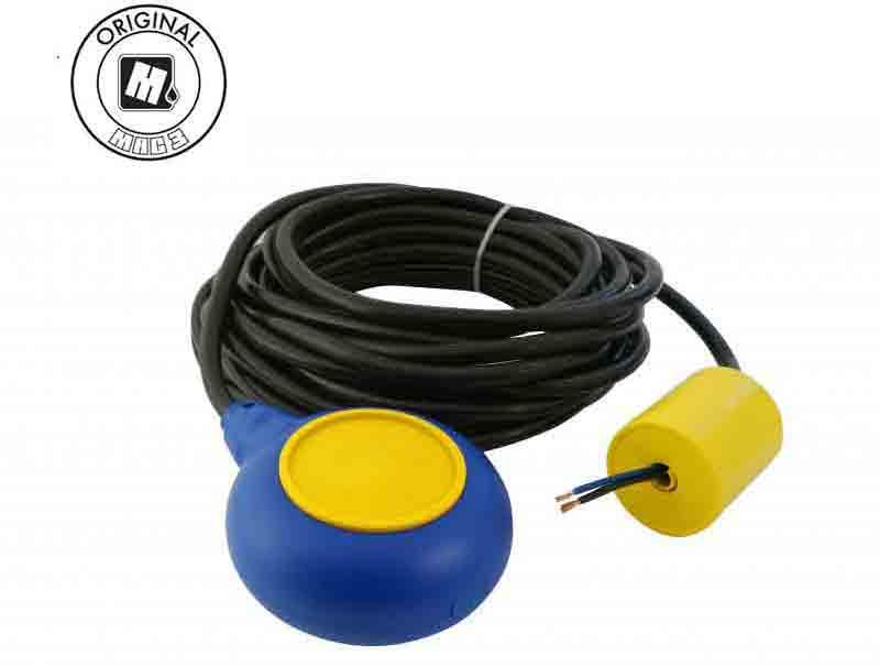 Phao mực nước MAC3,Cáp H07RN-F 3x1(10m),dùng cho nước thải