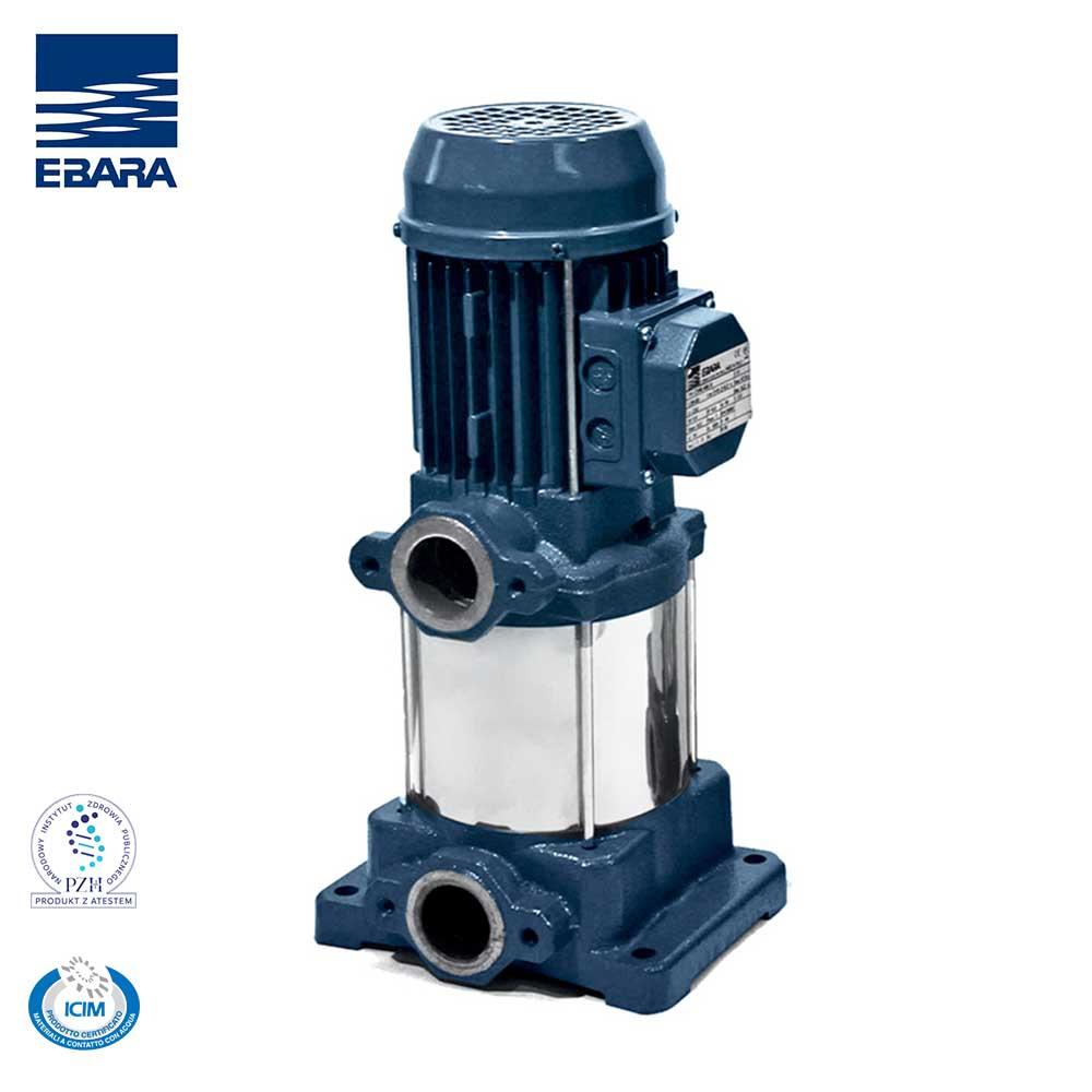Bơm trục đứng Ebara, Model CVM, Lưu lượng: 1,2-7,2m3/h